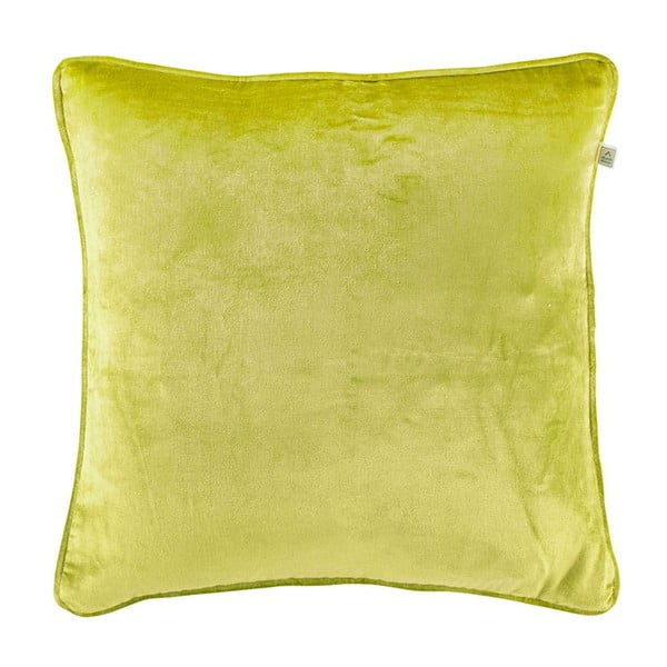 Vankúš Fluweel Lime, 45x45 cm