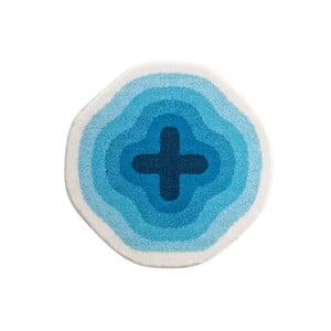 Kúpeľňová predložka Kolor My World III 60 cm, modrá