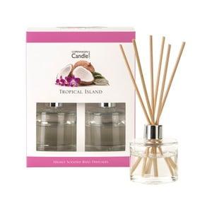 Sada 2 aromatických difuzérov Copenhagen Candles Tropical Island, 40 ml