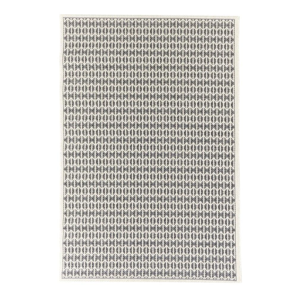 Čierny vonkajší koberec Floorita Stuoia, 130 × 190 cm