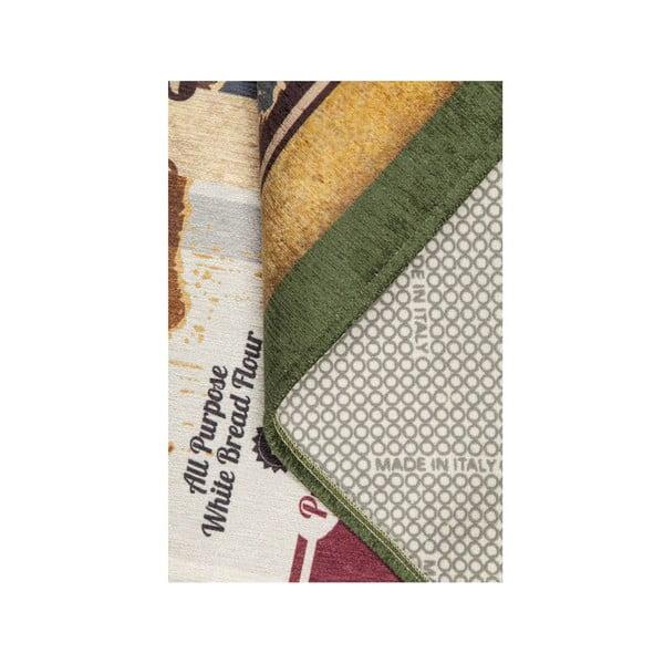 Vysokoodolný kuchynský koberec Caddy, 60x220 cm