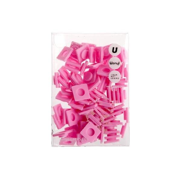 Sada 80 veľkých pixelov, pink