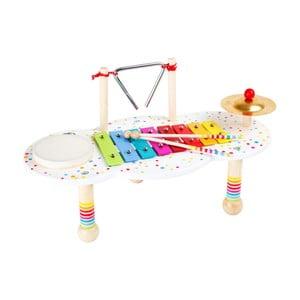 Drevený hudobný stolík na hranie Legler Sound