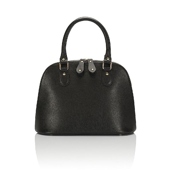 Kožená kabelka Giorgio Costa 15021 Black