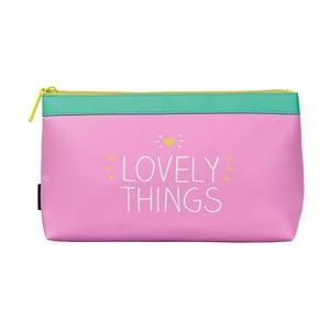 Ružová kozmetická taštička Happy Jackson Lovely Things