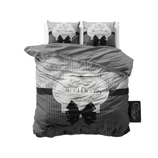 Obliečky Sweet Dreams 200x200 cm, sivé