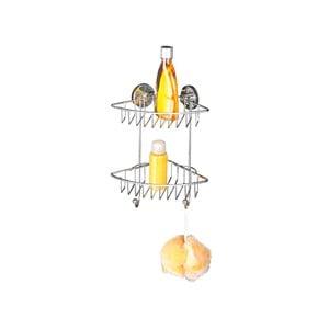 Dvojposchodový rohový stojan bez nutnosti vŕtania Wenko Vacuum-Loc, až 33 kg