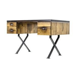 Pracovný stôl z borovicového dreva Maliari
