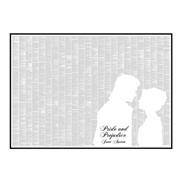 Knižný plagát Pýcha a predsudok, 118,9x84,1 cm