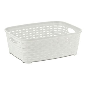 Biely plastový košík Kela Raio
