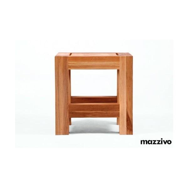 Nočný stolík z jelšového dreva Mazzivo Ellesse