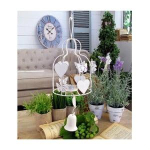 Závesná dekorácia na čajovú sviečku Bell