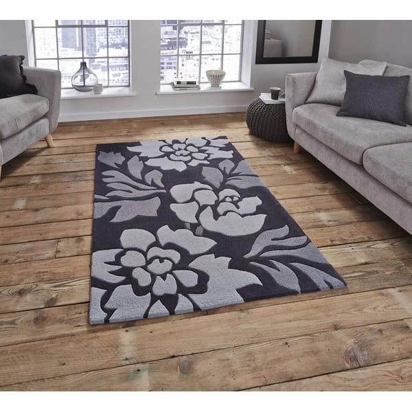 Fialový koberec Think Rugs Hong Kong, 120x170cm