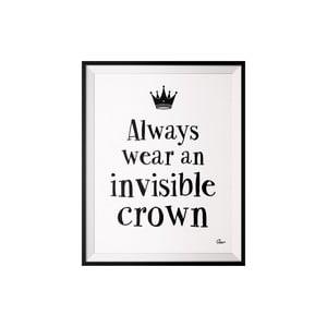 Plagát Crown, 40x50 cm