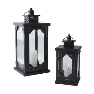 Sada 2 lampášov Antique Black