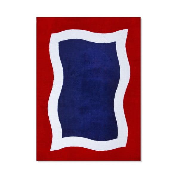 Detský koberec Mavis Blue and Red Water, 120x180 cm