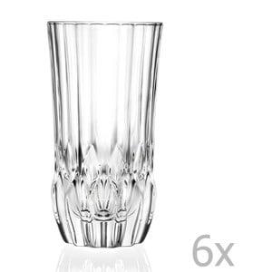 Sada 6 pohárov RCR Cristalleria Italiana Bettina