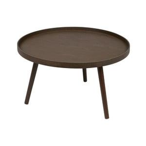 Hnedý odkladací stolík DeEekhoorn Mesa L