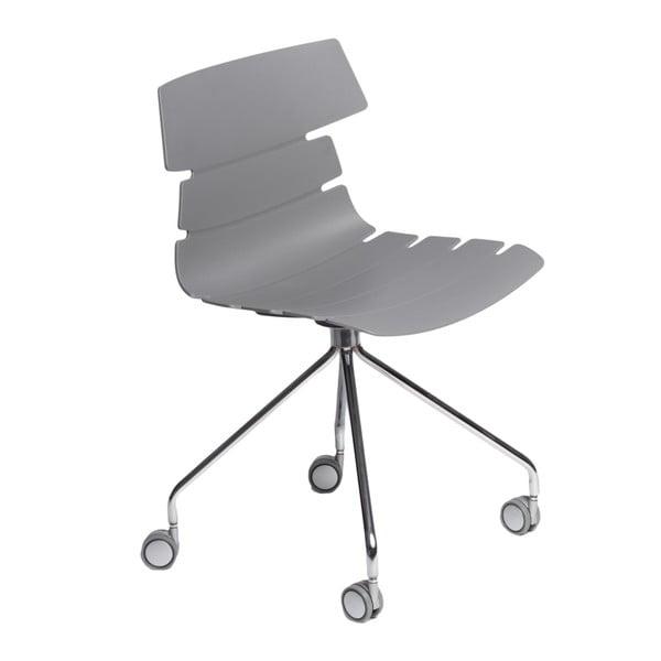 Sada 2 stoličiek D2 Techno Roll, sivé