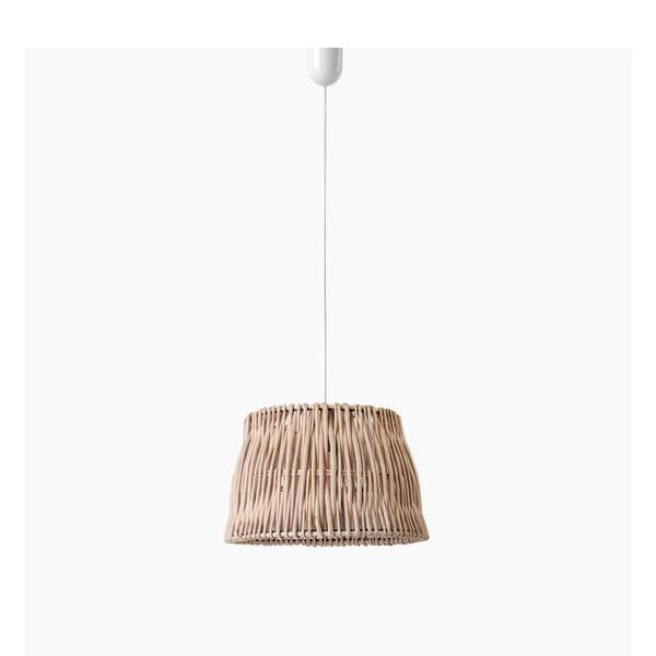 Stropné svetlo Line, 30x22 cm, hnedé