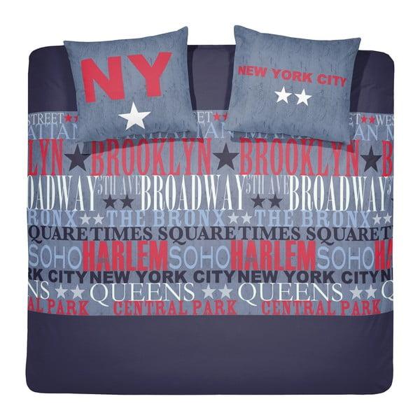 Obliečky Brodway Darkblue, 140×200cm