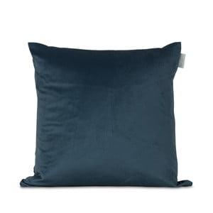 Modrá obliečka na vankúš HF Living Velvet, 45×45cm