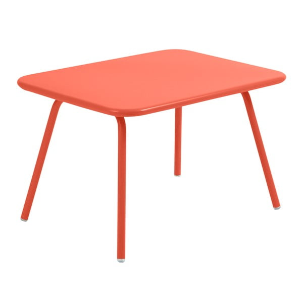 Oranžový detský stôl Fermob Luxembourg