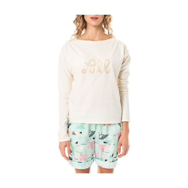 Pyžamo Cream Espang, veľ. M
