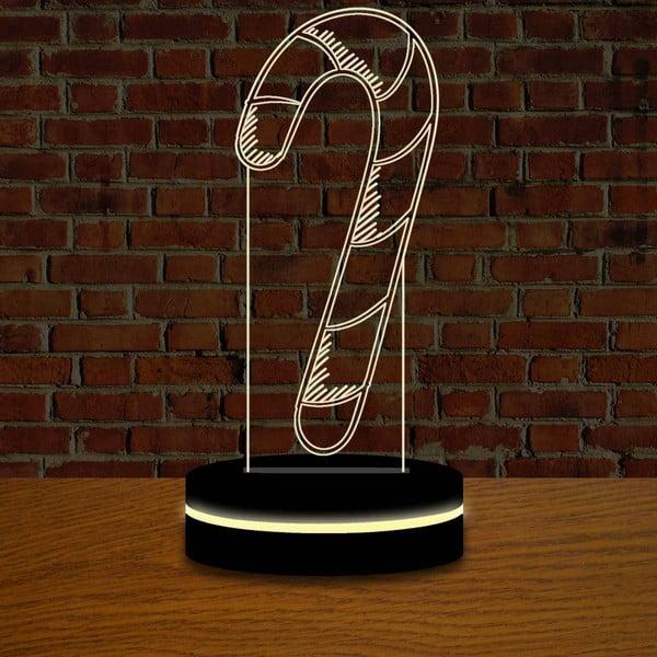 Lampa s 3D efektom Christmas no. 10