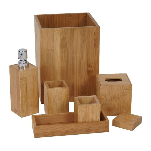 Kúpeľňový set Rome Bamboo (7 ks)