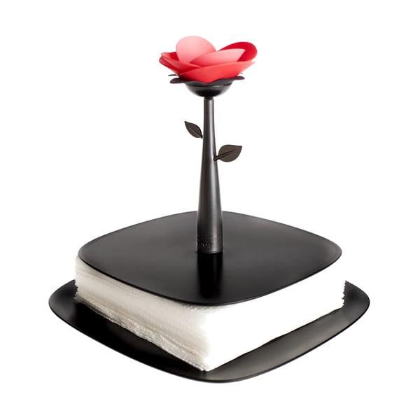 Držiak na servítky Vigar Black Flower