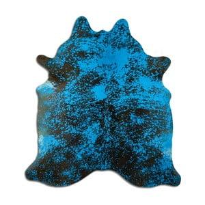 Pravá hovädzia koža Arctic Fur Turq, 224 × 210 cm