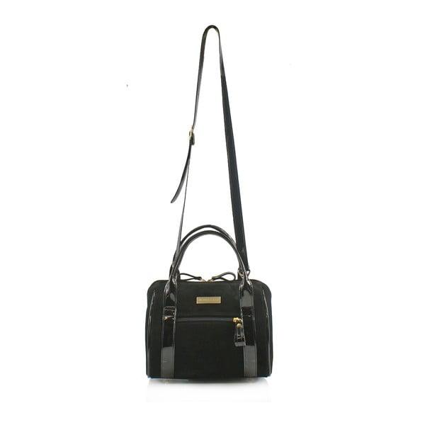 Kožená kabelka Boscollo Black 3349