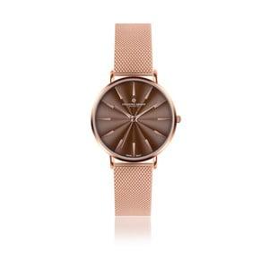 Unisex hodinky s antikoro remienkom v ružovozlatej farbe Frederic Graff Rose Monte Rosa Rose zlaté Mesh