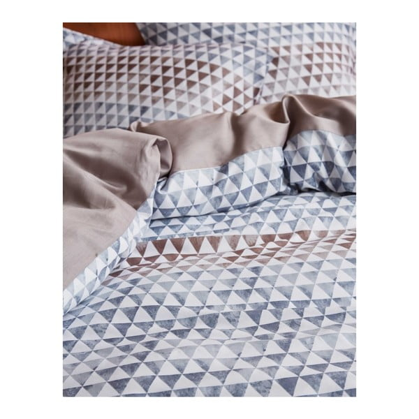 Sivé obliečky Esprit Yelka, 140x220cm