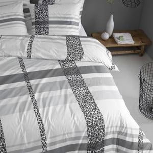 Obliečky Leopard 240x200 cm, šedé