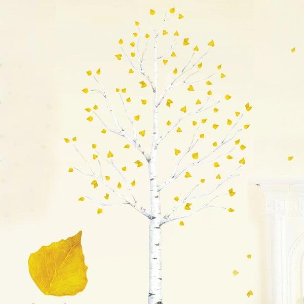 Samolepka na viac použití Autumn Leaves