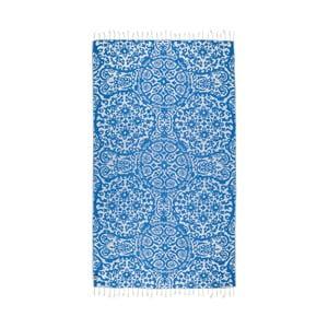 Modrá hammam osuška Kate Louise Camelia, 165x100cm