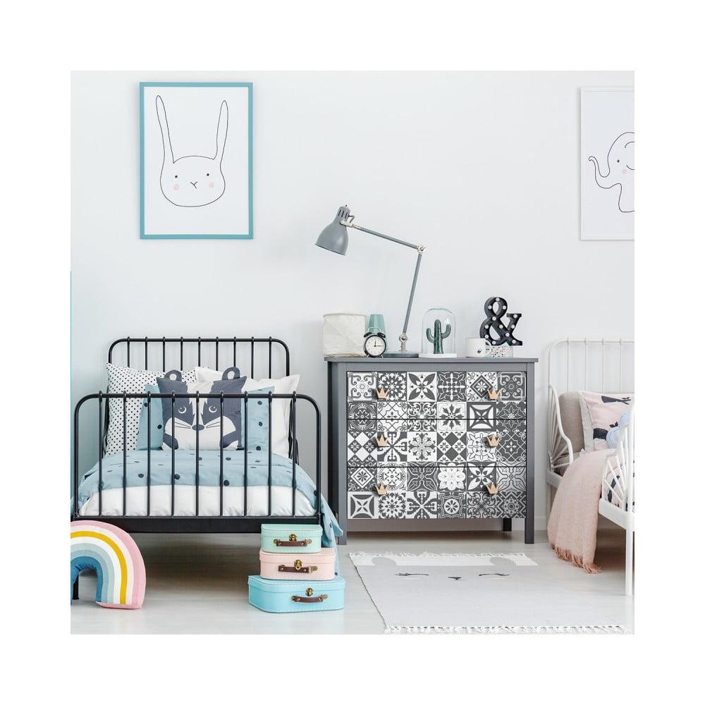 Sada 30 samolepiek na nábytok Ambiance Tiles Stickers For Furniture Pasqualine, 15 × 15 cm