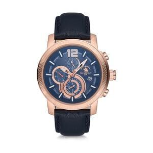Pánske hodinky s koženým remienkom Santa Barbara Polo & Racquet Club Millionare