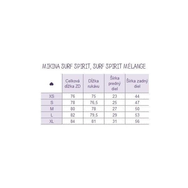 Mikina Surf Spirit Melange, veľkosť L