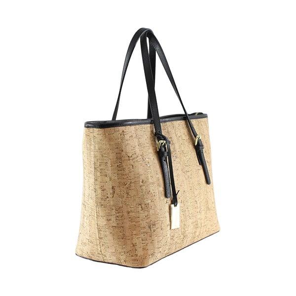 Kožená kabelka Montessa, korková