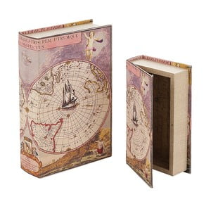 Sada 2 úložných boxov Artesania Esteban Ferrer Books