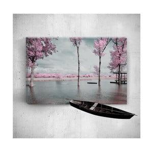 Nástenný 3D obraz Mosticx Romantic Countryside, 40×60 cm