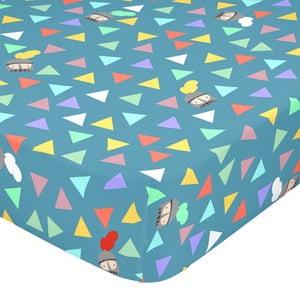 Elastická bavlnená plachta Mr. Fox Knight, 90 × 200 cm