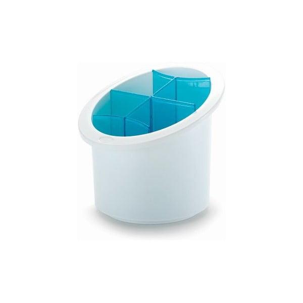 Stojan na príbory Cutlery, modrý