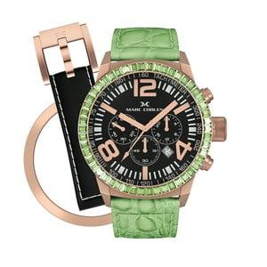 Dámske hodinky Marc Coblen s remienkom a krúžkom na ciferník naviac P86