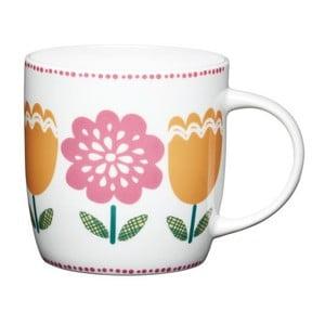 Porcelánový hrnček Traditional Folky Tulip, 425 ml
