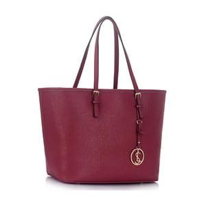 Vínová kabelka L&S Bags Tote