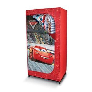 Červená šatníková skriňa Domopak Living Cars, dĺžka145 cm